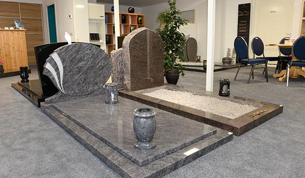 grafstenen showroom