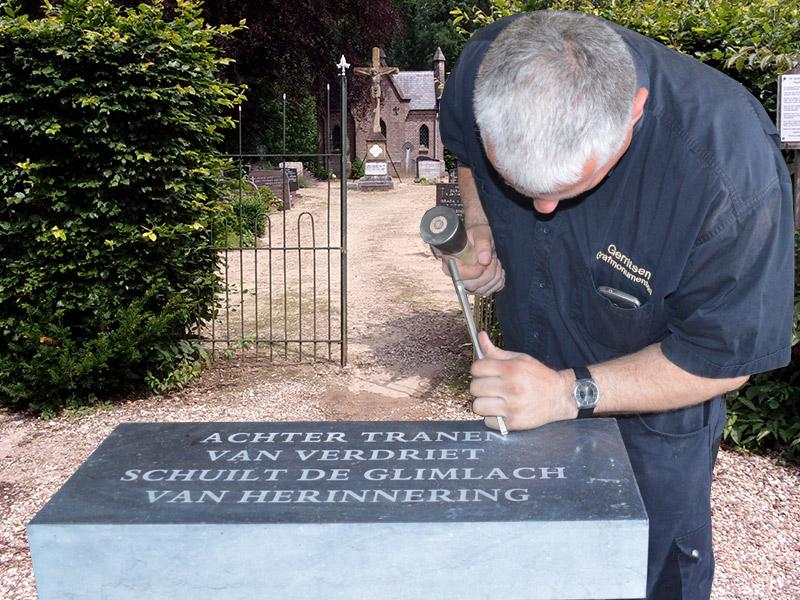 grafsteen hakken