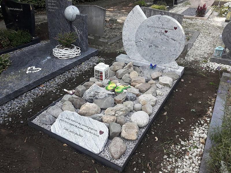 grafsteen-waaier