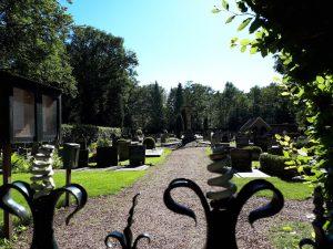 Ingang naar RK begraafplaats Joppe